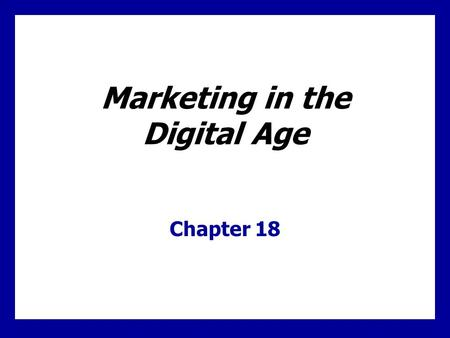 Learning Goals Be able to identify the major forces shaping the new digital age. Understand how companies have responded to the Internet with e-business.