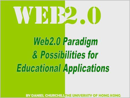 THE UNIVERSITY OF HONG KONG WEB BY DANIEL CHURCHILL 2.0.