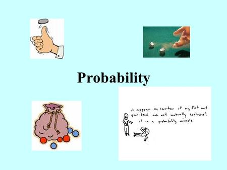 Probability. Three Types of Probabilities Theoretical Relative Frequency Personal or Subjective.