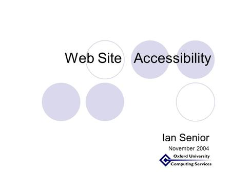 the problems of web accessibility Accessibility of employment covers a wide range of issues, from skills training the best practice for web accessibility statements has been updated in bs 8878.