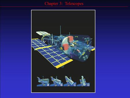 Chapter 3: Telescopes. Goals Describe basic types of optical telescopes Explain why bigger is better for telescopes Describe how the Earth's atmosphere.