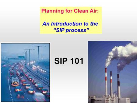 Planning for Clean Air: