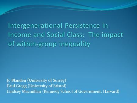 essays on social class and health
