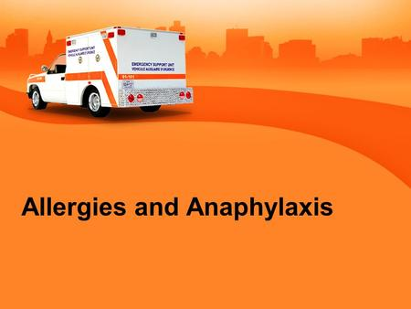 Allergies and Anaphylaxis. How Many Have Allergies? 1.None 2.A few 3.Will make me sick 4.Can't breath.