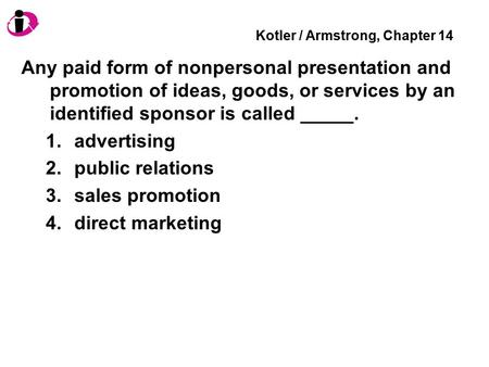 Kotler / Armstrong, Chapter 14