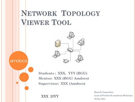 Network Topology Viewer Tool