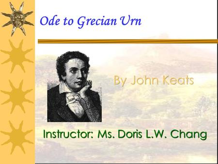 a literary analysis of ode to a nightingale and a comparison of ode on a grecian urn Thomson argues for the productivity of teaching keats's ode on a grecian urn in a context which emphasizes keats's poetics of encounter and the passionate intensity which characterizes these encounters those encounters are studied in lectures and tutorials which explore keats's literary and cultural context, in particular early nineteenty-century public access to works of art.