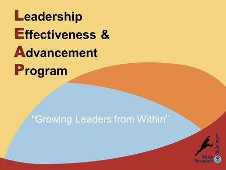 "L eadership E ffectiveness & A dvancement P rogram ""Growing Leaders from Within"" 1."
