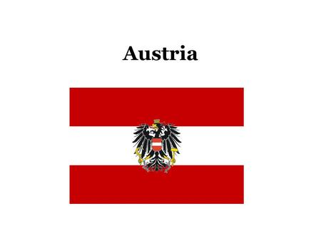 Austria By Noelle Perkins Ppt Download - Which continent is austria located