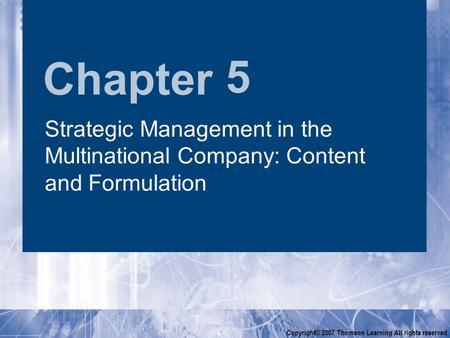johnson and johnson strategy formulation Strategy analysis of johnson and johnson essay academic writing service   johnson and johnson strategy formulation 2164 words   9 pages strategic  analysis.