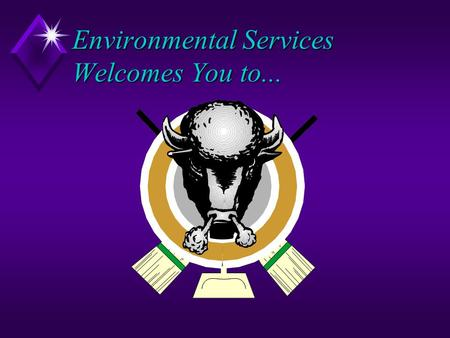 Environmental Services Welcomes You to.... Proper Methods for Disposal of Glass Department of Facilities Management Environmental Services Division.