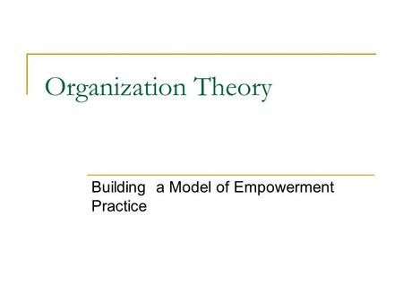 empowerment practice model pdf download