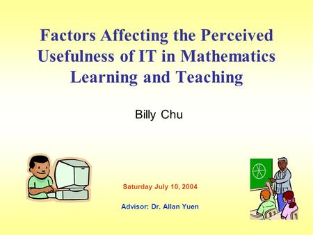 Factors Affecting Effective Teaching