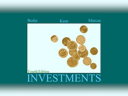 INVESTMENTS Kane BodieMarcus Fourth Edition. The Investment Environment Chapter 1 1-1.