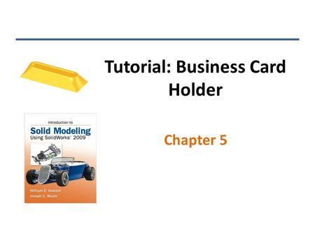 Tutorial: Business Card Holder