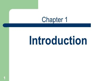 1 Introduction Chapter 1. 2 1.1 What Is Management Science? Management Science is the discipline that adapts the scientific approach for problem solving.
