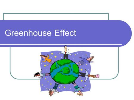 Greenhouse Effect. The Greenhouse Greenhouses are used to grow plants, especially in the winter. The glass panels of the greenhouse let in light but keep.