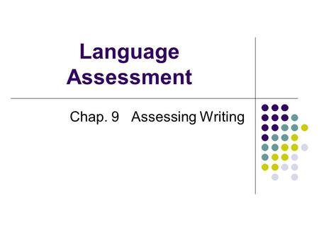 Academic writing needed students ppt