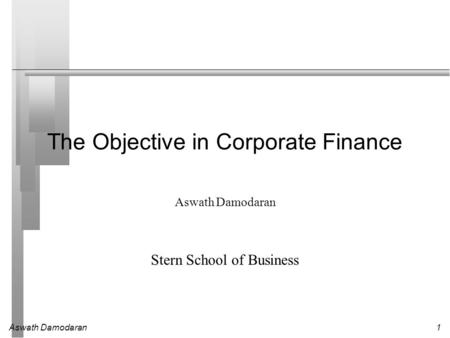 the objective in corporate finance Find the best corporate controller resume samples to help you improve your own resume  corporate controller led the finance and control functions and business.