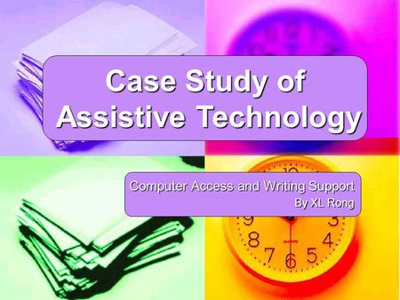 assistive technology analysis condition study