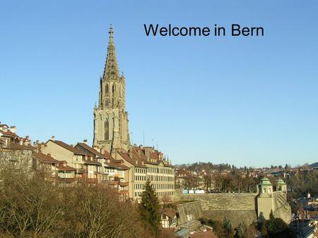 "Welcome in Bern. Research at the Institute of Applied Physics Electromagnetic radiation from X-rays to T-rays Generation and detection of ""light"" Interaction."