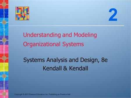 systems analysis and design methods chapters Kenneth e kendall: systems analysis and design (9th edition) pdf download, mobi epub kindle description directed primarily toward students taking an course in.