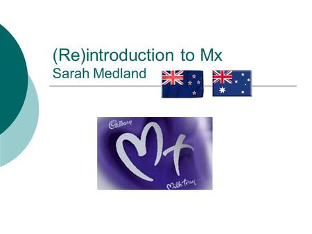 (Re)introduction to Mx Sarah Medland. KiwiChinese Gooseberry.
