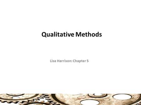 chapter 5 dissertation qualitative