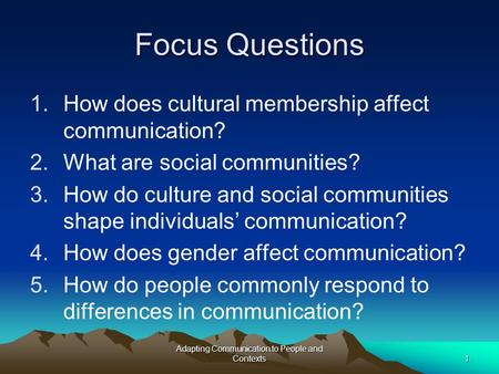 how may civilization impact communication