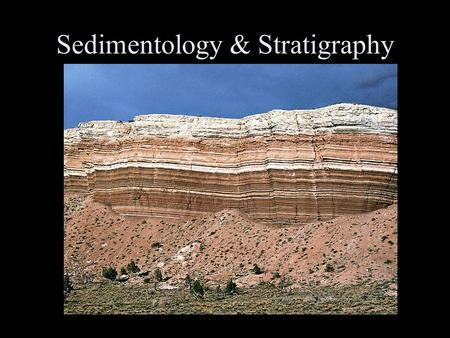 Sedimentology & Stratigraphy. Sedimentology The study of the processes that erode, transport and deposit sediments Sedimentary Petrology The study of.