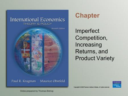 Imperfect Competition, Increasing Returns, and Product Variety
