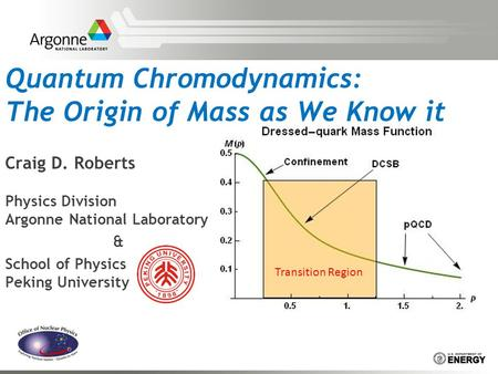 Quantum Chromodynamics: The Origin of Mass as We Know it