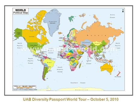 UAB Diversity Passport World Tour – October 5, 2010.