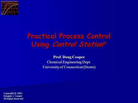 Practical Process Control Using Control Station