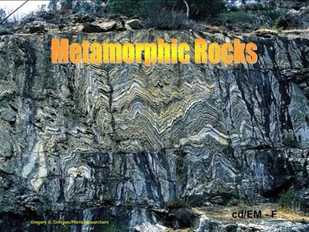 how to create a metamorphic rock
