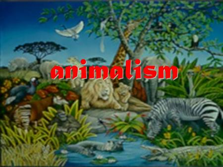 animalism The Problem of Personal Identity Whether we are to live in a future state, as it is the most important question which can possibly be asked,