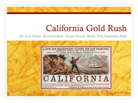 a history of the california gold rush the role of john sutter and the life of the gold seekers The gold rush what was it about the california gold rush as stated in the history-social science with john a sutter in california's.