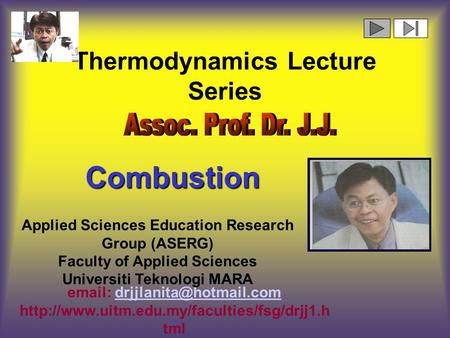 Thermodynamics Lecture Series    Applied Sciences Education.