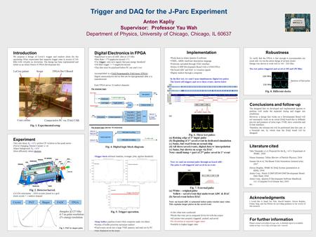 Introduction We propose a design of Level-1 trigger and readout chain for the upcoming J-Parc experiment that supports trigger rates in excess of 100 KHz.