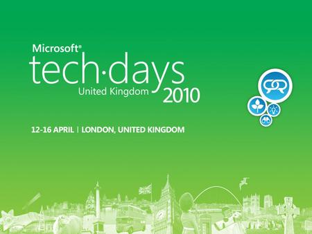 Ask a question via #uktechdays or text Microsoft to 60300 What is the Optimised Desktop? Does one size fit all? Some vendors would lead you to think.