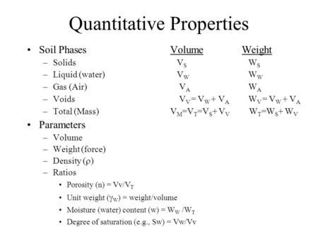 Soil composition ce1303 engineering material properties for Physical properties of soil wikipedia