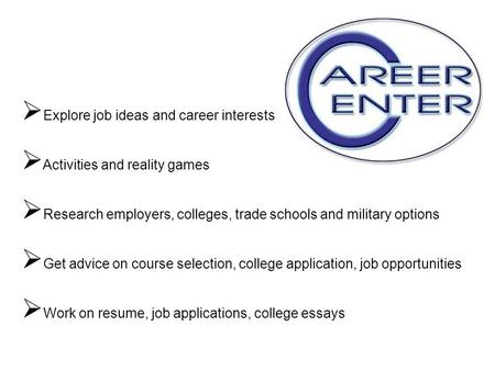 Trade school job options