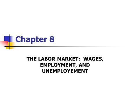 Theory labor and modern economics public policy pdf