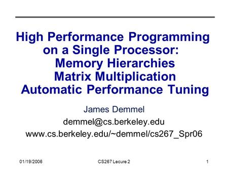 the ideal high performance computing programming
