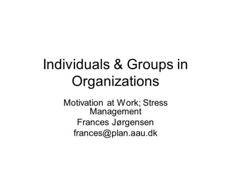 """motivation in organizations Chapter 14 motivating employees  motivation is defined as """"the intention of achieving a  that organizations use to motivate employees besides those used by."""