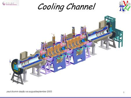 Paul drumm daq&c-ws august/september 2005 1 Cooling Channel.