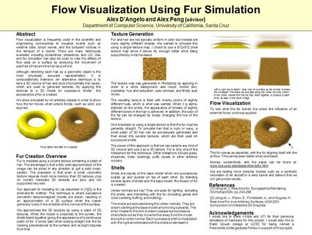 Fur and hair are not typically uniform in color but instead are many slightly different shades. We wanted to simulate this using a single texture map.