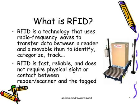 rfid a guide to radio frequency identification