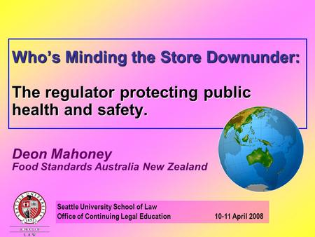 Food Standards Australia And New Zealand Chapter