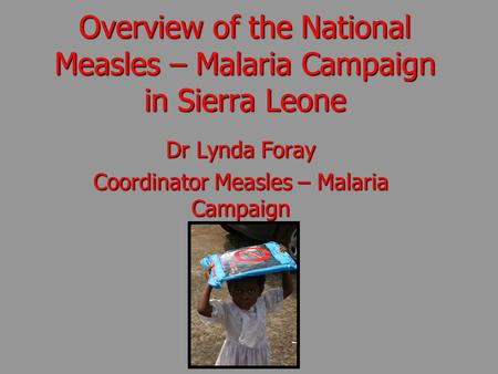 an overview on malaria Overview of malaria treatment last update: 18 january 2018 malaria is a  preventable and treatable disease the primary objective of treatment is to  ensure.